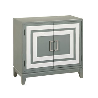 White and Grey Modern Door chest