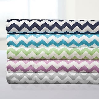 Incredibly Soft 4-Piece Chevron Sheet Set
