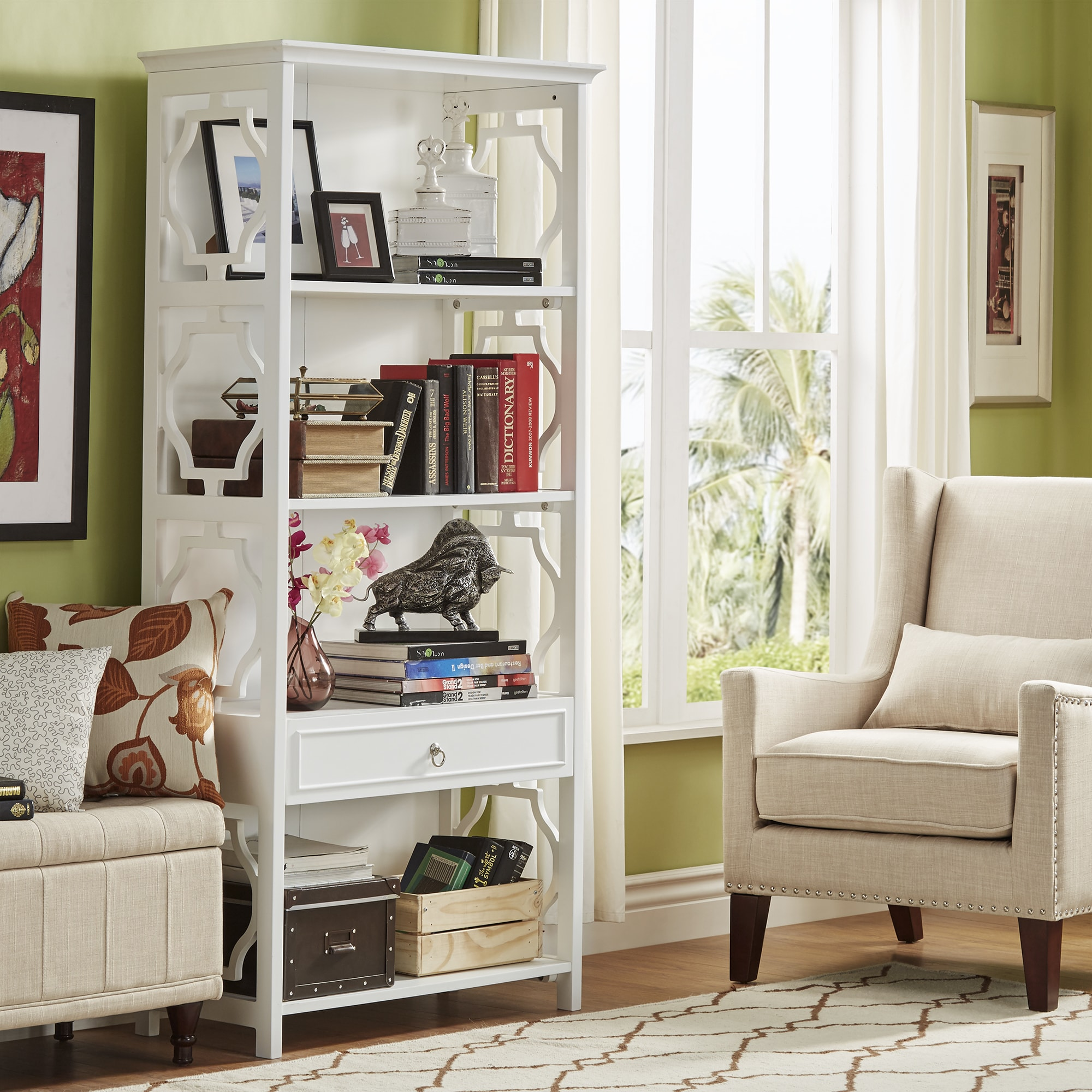 Painted Bookshelves & Bookcases For Less | Overstock
