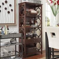 Manor Quatrefoils Lattice 1-drawer Bookcase Shelving by iNSPIRE Q Classic