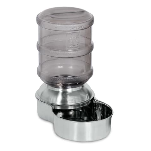 Stainless Steel Replendish Waterer - 1 Gallon