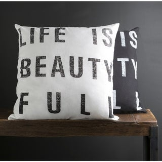 Carbon Loft Morrison 22-inch Print Throw Pillow Cover (2 options available)