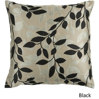 Decorative Skegness 22-inch Leaves Pillow Cover