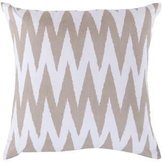 Decorative Snodland 18-inch Chevron Pillow Cover