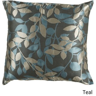 Decorative Skegness 18-inch Leaves Pillow Cover