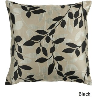 Decorative Skegness 18-inch Leaves Throw Pillow Cover (5 options available)