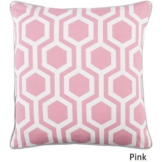 Decorative 18-inch Mall Throw Pillow Shell