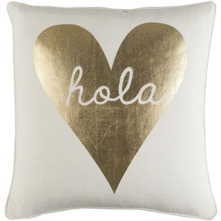 Decorative 18-inch Hill Throw Pillow Shell