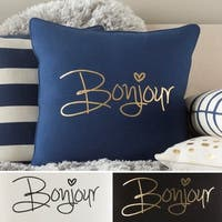 Decorative 18-inch Hana Throw Pillow Shell