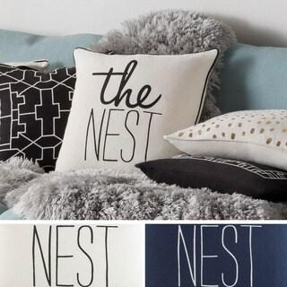 Decorative 18-inch Gran Throw Pillow Shell