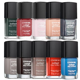 CoverGirl Outlast Stay Brilliant Nail Gloss 10-piece Collection