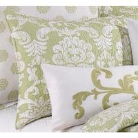 Providence Cucumber Green Cotton Standard Sham