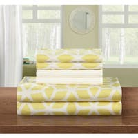 Porch & Den Denver 6-piece Yellow Sheet Set