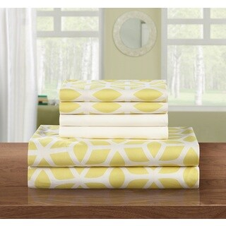 Porch & Den Denver 6-piece Yellow Sheet Set