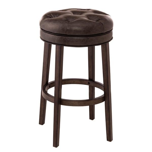 Shop Hillsdale Furniture Krauss Backless Bar Stool Free