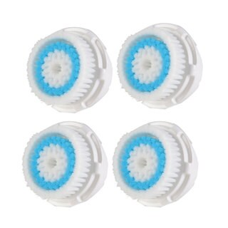 Pursonic 4-Pack Replacement Brush Heads for Deep Pore, Normal, Acne, Sensitive or Delicate Skin