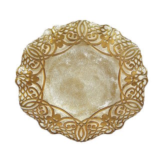 Geneve Gold Charger Plate