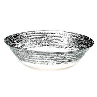 Magara Silver Leafed Glass Bowl