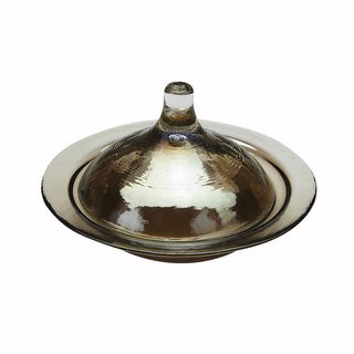 Smoke Luster Rabat Covered Dish