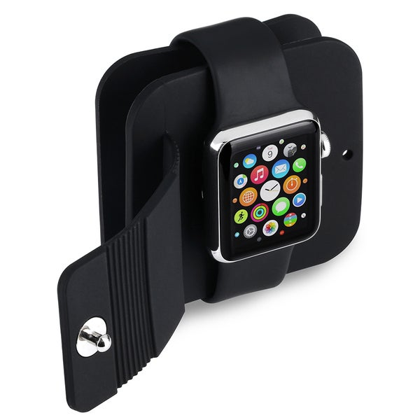 Premium Anti-scratch Apple Watch Compatible TPU Protector Storage Case