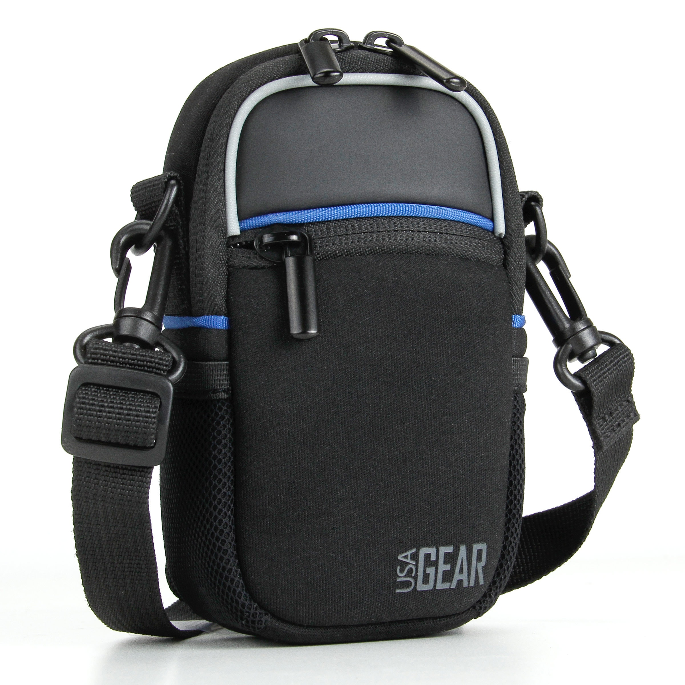 Compact Camera Bag by USA Gear with Rain Cover and Should...