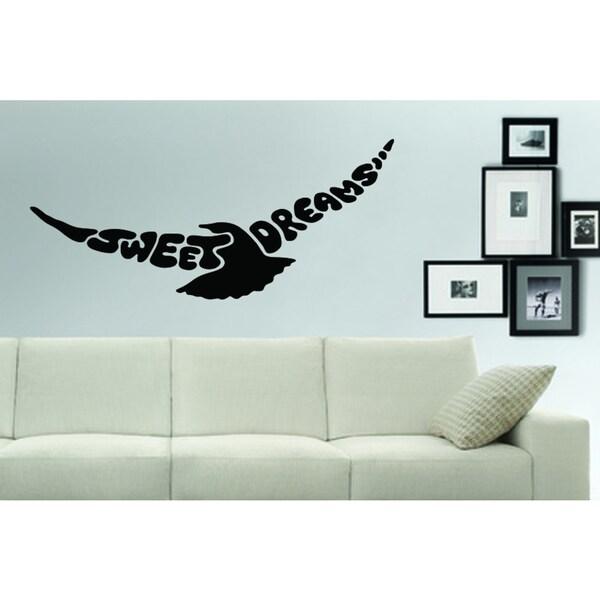 soaring birds sweet dreams wall art sticker decal free shipping on