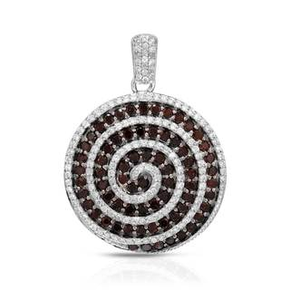 KREMENTZ 14k White Gold 1 1/10ct TDW Diamond Pendant (G-H, I2-I3)