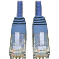 Tripp Lite Cat6 Gigabit Molded Patch Cable (RJ45 M/M), Blue, 14 ft