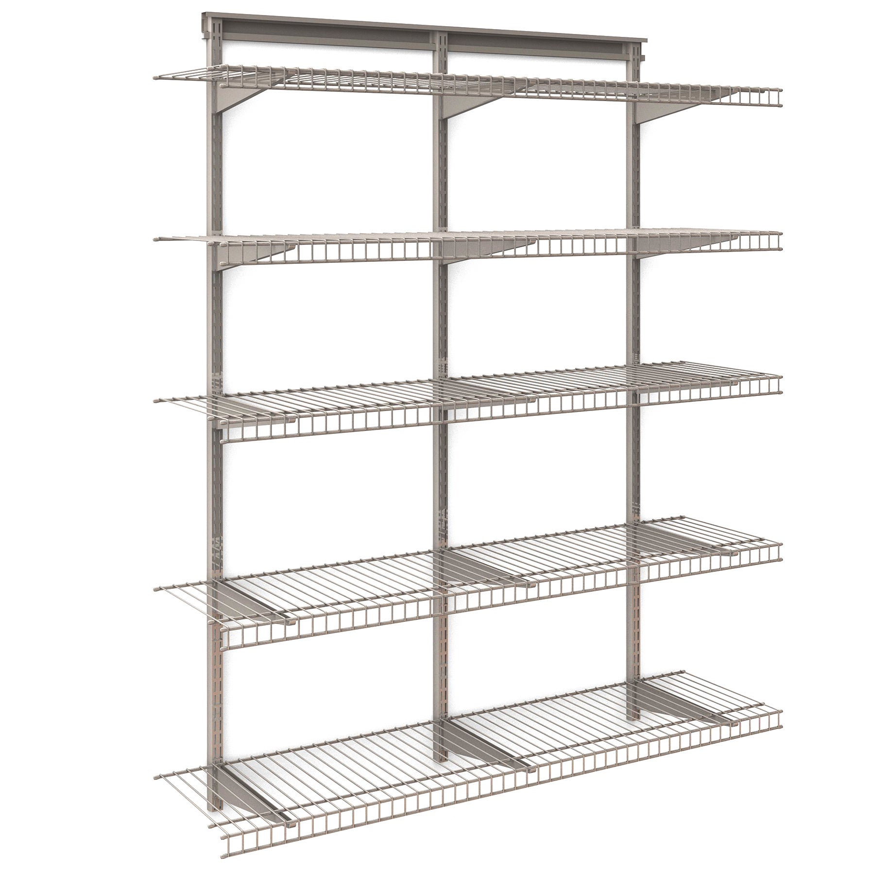 Excellent 8 Ft Closetmaid Adjustable Mount Wire Shelving