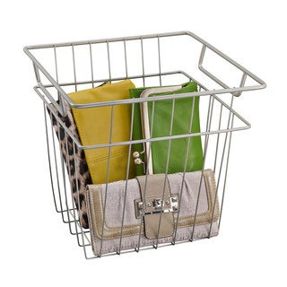 ClosetMaid Nickel Wire Basket