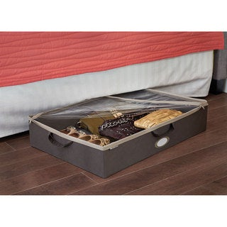 ClosetMaid Grey Under Bed Fabric Storage Bin