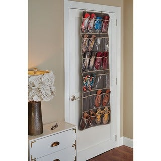 ClosetMaid 24 Pocket Over the Door Shoe Organizer