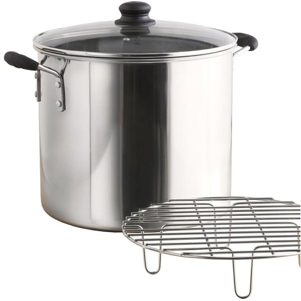 IMUSA Global Kitchen GKA-61014 8-quart Steamer Stainless Steel. Opens flyout.