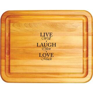 Live, Laugh, Love Cutting Board