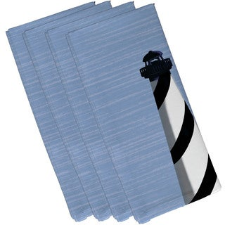 19-inch x 19-inch Light House Geometric Print Napkin
