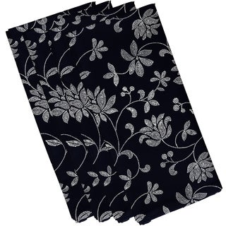 19-inch x 19-inch Traditional Floral Floral Print Napkin