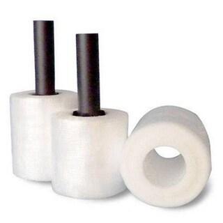 (36 Rolls) Coreless Stretch Wrap 3 In 2000 Ft 32 Ga + Free Plastic Dispenser