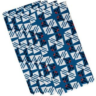 19-inch x 19-inch Jodhpur Ditsy Geometric Print Napkin
