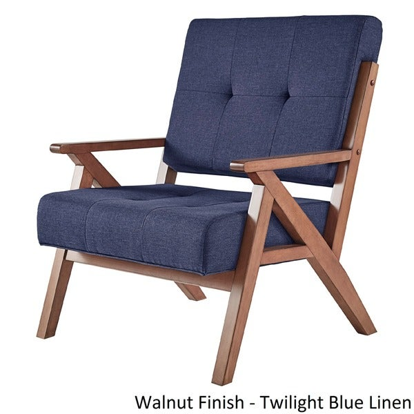 Emilia Midcentury Danish Modern Arm Chair INSPIRE Q Modern   Free Shipping  Today   Overstock.com   18532084
