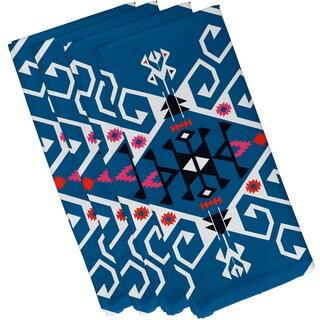 19-inch x 19-inch Jodhpur Medallion Geometric Print Napkin