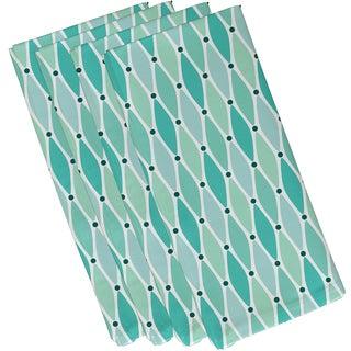 19-inch x 19 inch Wavy Geometric Print Napkin