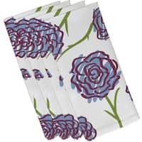 19-inch x 19-inch Spring Floral 1 Floral Print Napkin