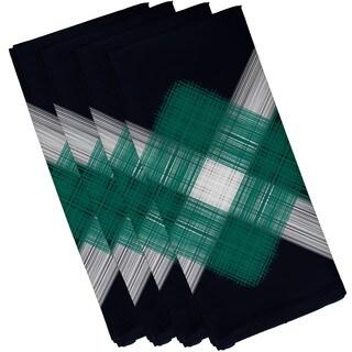 19-inch x 19-inch String Art Geometric Print Napkin
