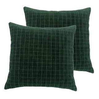 Flute 17-inch Throw Pillows (Set of 2)