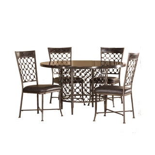 Hillsdale Furniture Brescello 5 Piece Round Dining Set
