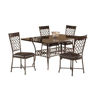 Hillsdale Furniture Brescello 5 Piece Retangle Dining Set