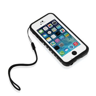 iPhone 5C White Waterproof, Dirtproof, Snowproof and Shockproof Carrying Case