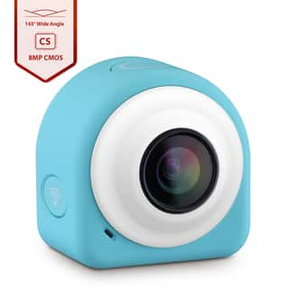 COCA+ Mini Lifestyle Blue Action Camera Upgraded Version with 8 Mega Pixel COMS Image Sensor by VicTsing|https://ak1.ostkcdn.com/images/products/11592958/P18532463.jpg?impolicy=medium