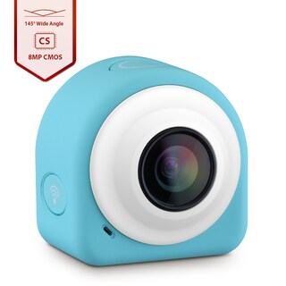 COCA+ Mini Lifestyle Blue Action Camera Upgraded Version with 8 Mega Pixel COMS Image Sensor by VicTsing