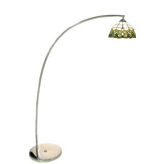 Bridgette 1-light Multi-color 64-inch Tiffany-style Floor Lamp